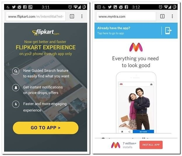 "Pics for ""Is App-Only Strategy Profitable in Indian Ecommerce Industry"""