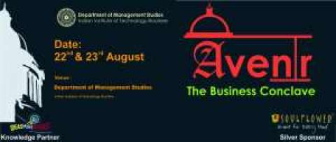 DOMS IIT Roorkee all set to organize annual Business Conclave, AVENIR