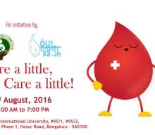 Symbiosis Blood Donation Drive – 2016
