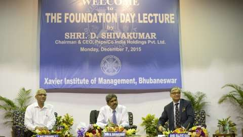 PepsiCo India CEO delivers the 13th XIMB Foundation Day Lecture