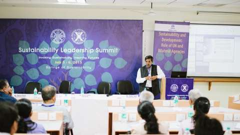 First of its kind Sustainability Leadership Summit 2015 held at XUB