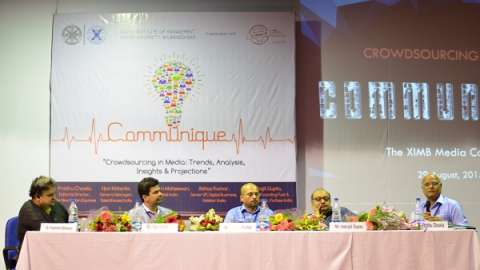 Media stalwarts share thoughts on 'Crowdsourcing' at XIMB Media Conclave