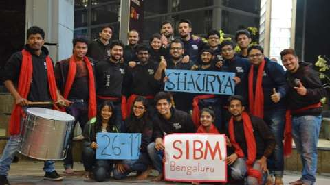 Be the revolution – a street play @ SIBM Bengaluru