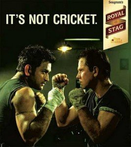 Cricket and Royal Stag