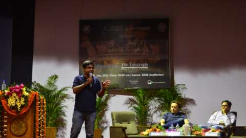 "Start-Up Heads Inspire Budding Entrepreneurs at ""Xavion 2016"""
