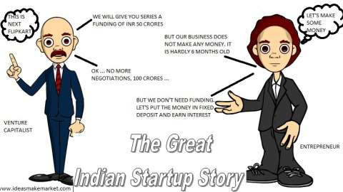 IMM Comics: The Great Indian Startup Story